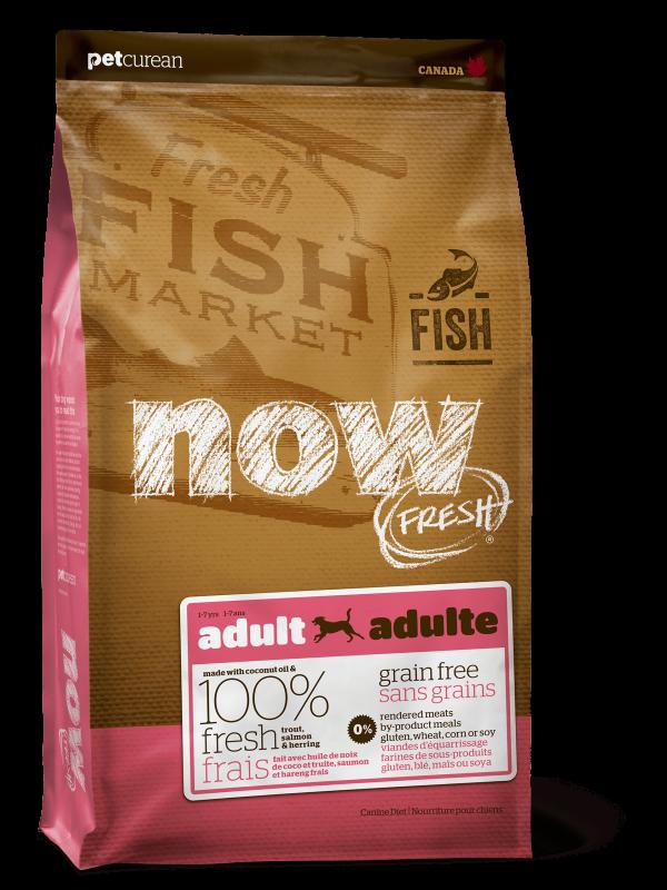 Now Fresh Беззерновой для Взрослых Собак с Форелью и Лососем для чувствительного пищеварения (Grain Free Fish Adult Recipe DF 24/14)