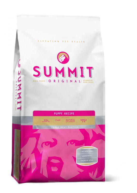 Summit Original Для щенков три вида мяса с Ягненком, Цыпленком и Лососем (Original Three Meat, Puppy Recipe DF 28/17)