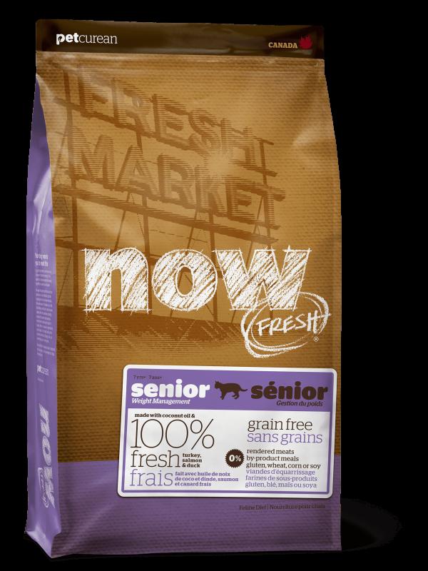 """NOW Fresh """"Контроль веса"""" Беззерновой для Взрослых Кошек с Индейкой, Уткой и овощами (Fresh Grain Free Adult Cat Recipe 30/14)"""