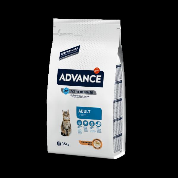 Advance Adult C&R Для взрослых кошек: Курица и рис