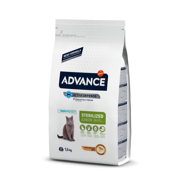 Advance Young Sterilized Для стерилизованных кошек до 2 лет