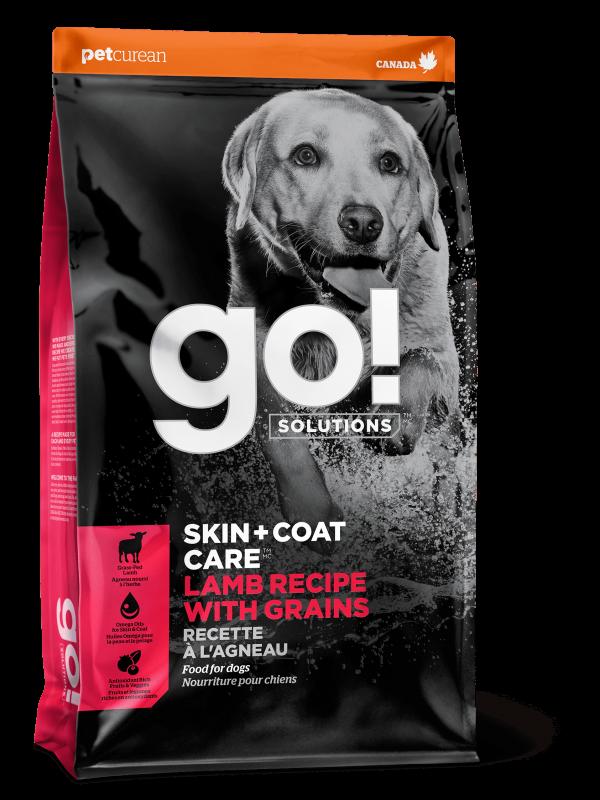 GO! Solutions Для Щенков и Собак со свежим Ягненком (GO! SKIN + COAT Lamb Recipe with Grains DF 22/14)