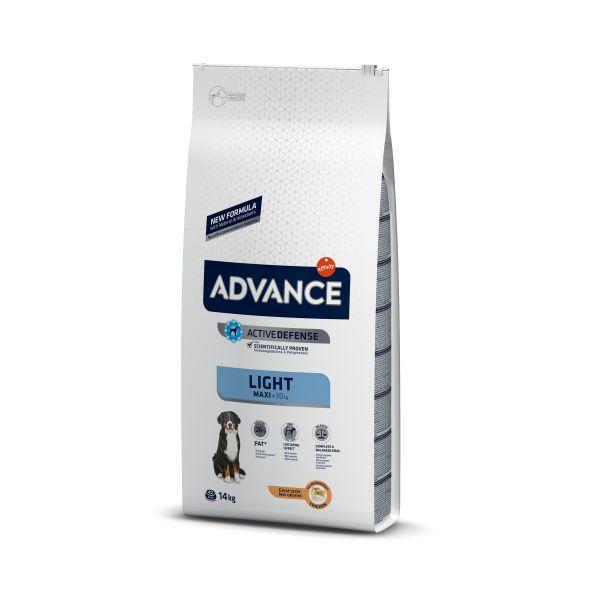 Advance AD MAXI LIGHT Контроль веса Сухой корм для взрослых собак Крупных пород с Курицей и рисом