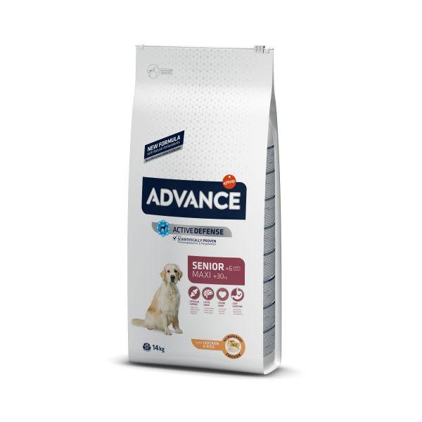 Advance AD MAXI SENIOR для пожилых собак крупных пород с Курицей и рисом