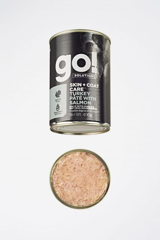GO! Solutions Консервы с Индейкой и Лососем для собак всех возрастов (GO! Skin + Coat Turkey Pate with Salmon DF)