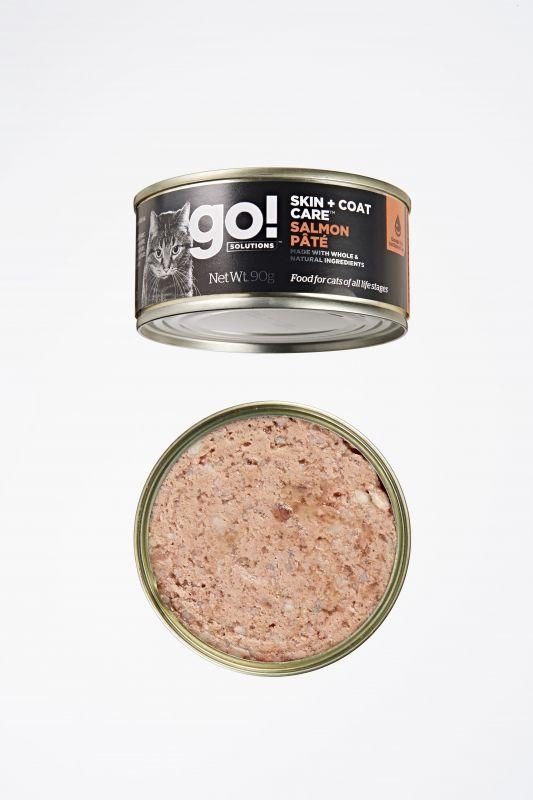 Go! Solutions Консервы с Лососем для кошек всех возрастов (GO! Skin + Coat Care Salmon Pate CF)