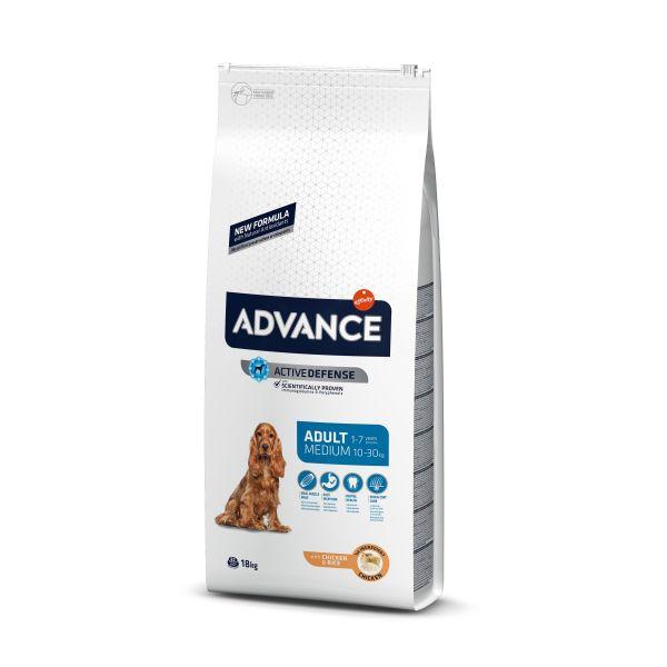 Advance Medium Adult Сухой корм для собак Средних пород с Курицей и рисом